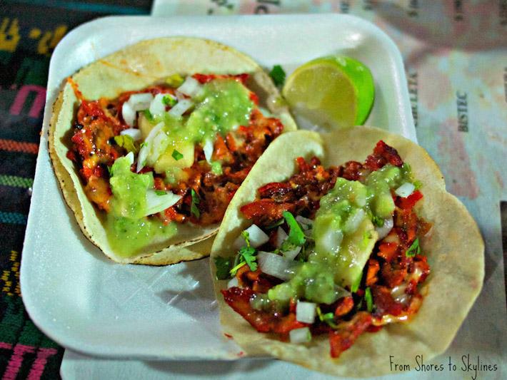 Tacos al Pastor in Mexico