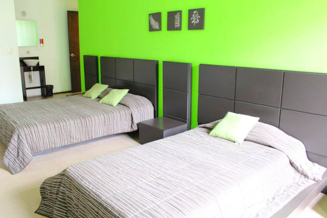 Spacious rooms at Hostal Amigo Suites Downtown