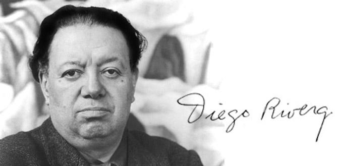 Mexican artist Diego Rivera
