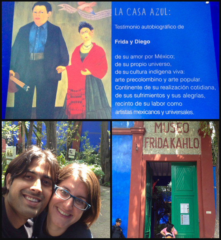 A&Z at Casa Museo Frida Khalo