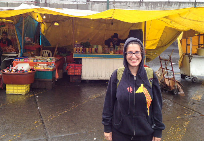 Exploring Mexico City's street food scene under the rain