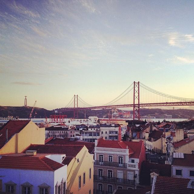 View from Miradouro Sao Pedro de Alcantara, Lisbon