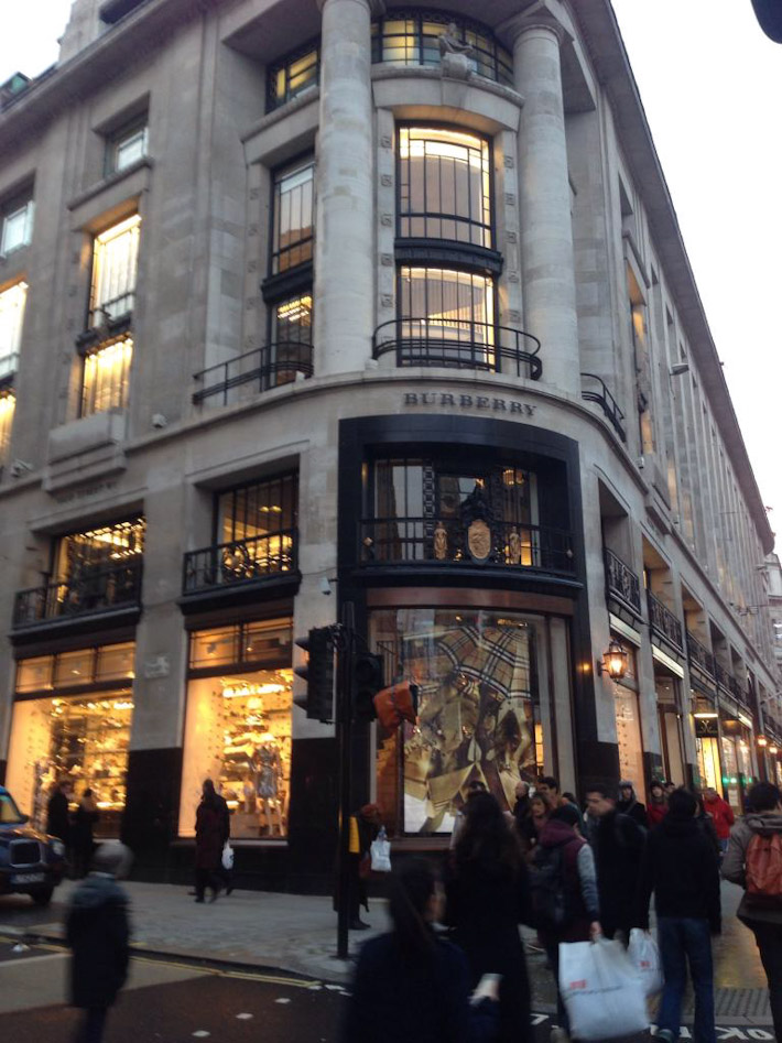 Shopping in Oxford Street