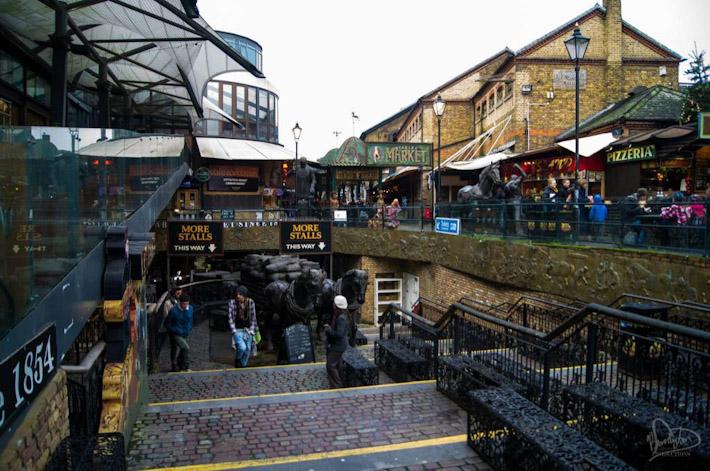 Shopping in Camden Town