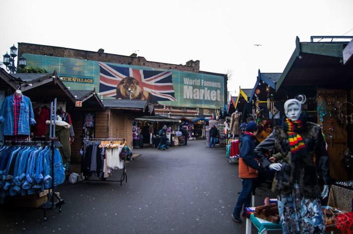 Alternative fashion in Camden