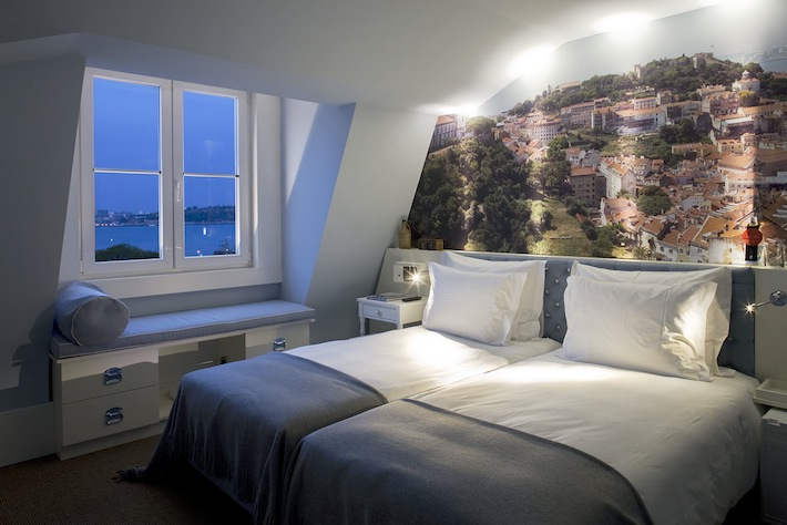 Superior room with river view at LX Boutique Hotel