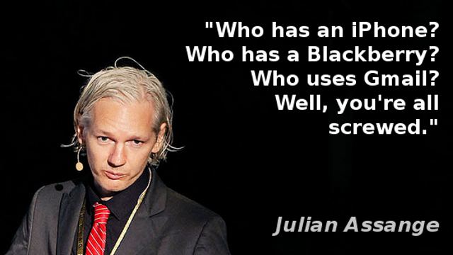 Quote by Julian Assange