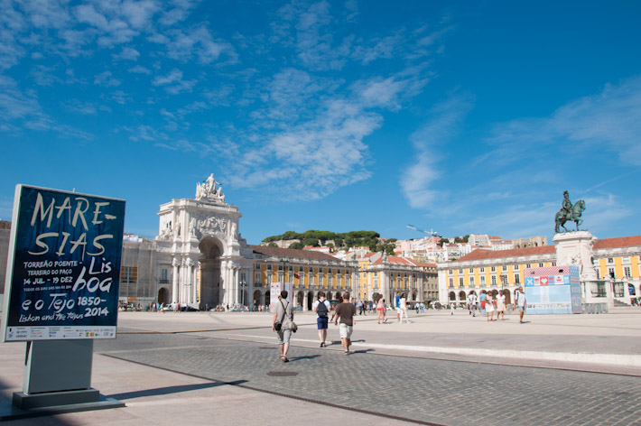 Comercio Square in Downtown Lisbon