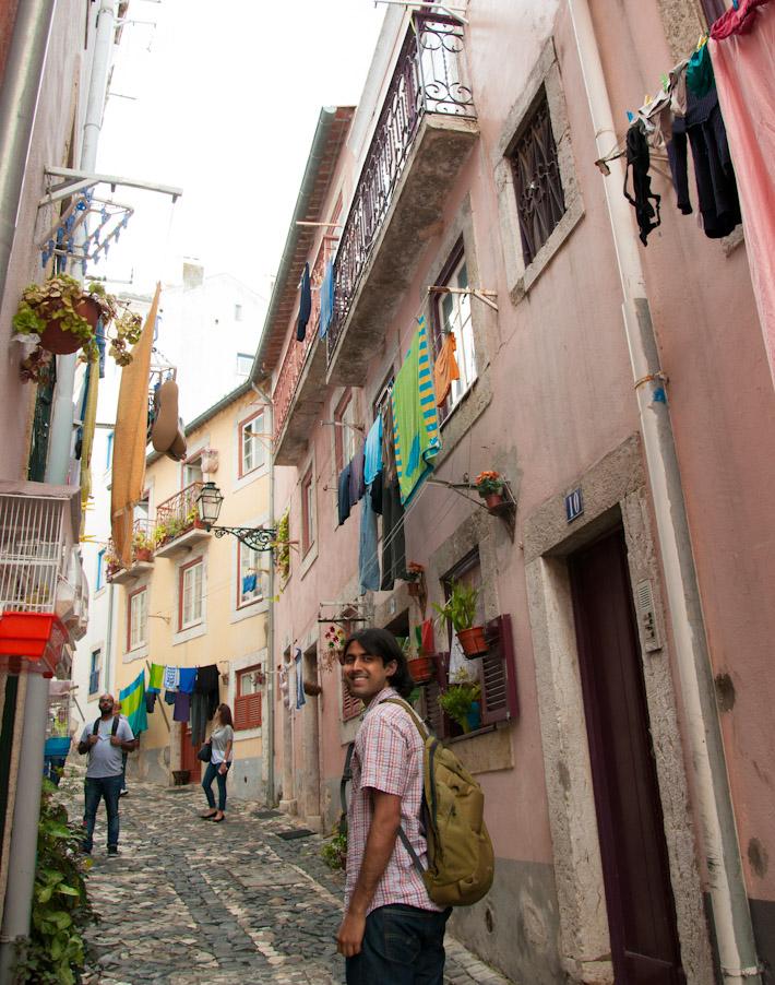 Strolling around Lisbon