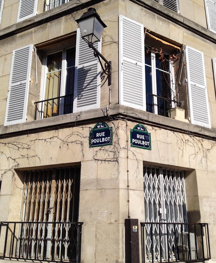 A random street corner in Paris
