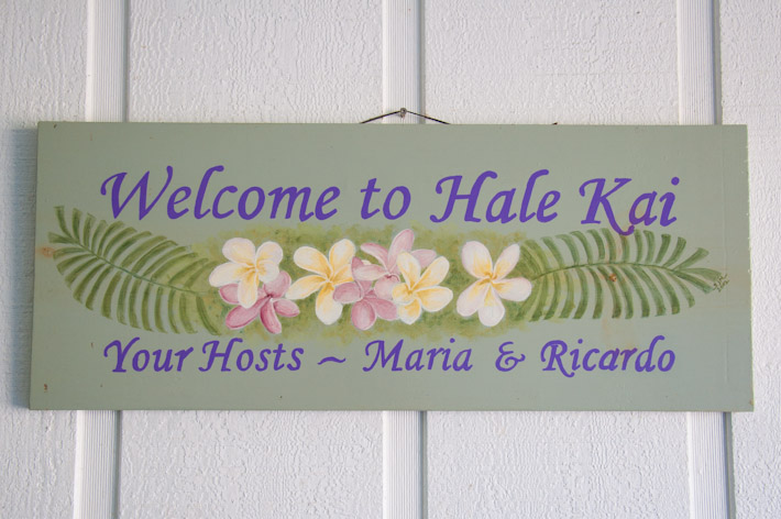 Welcome to Hale Kai B&B