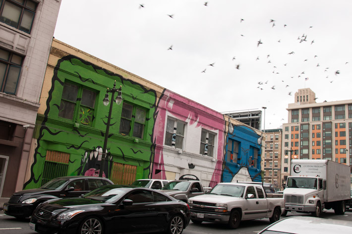 The Tenderloin neighborhood in San Francisco