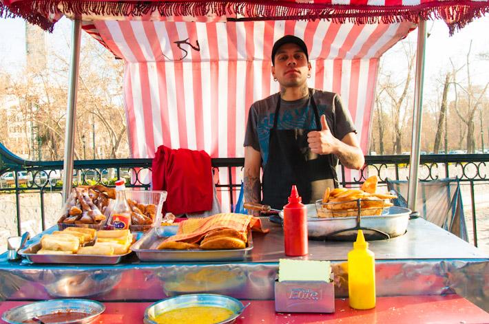 Street food Chile