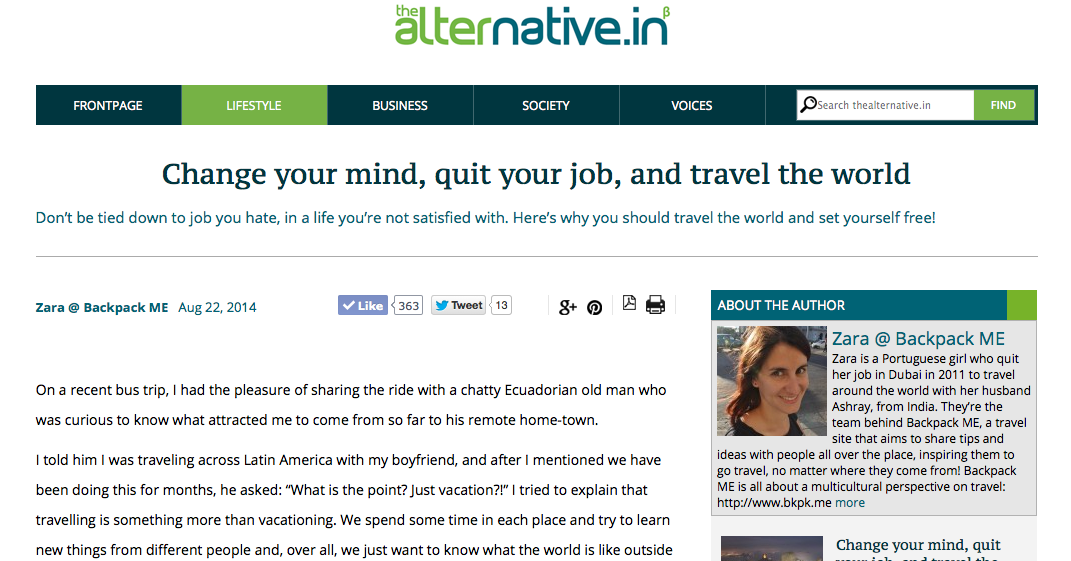 The Alternative: an Indian media platform that strives to make social good an extension of everyday life
