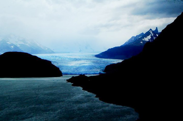 Glacier Grey - third largest ice sheet in the world
