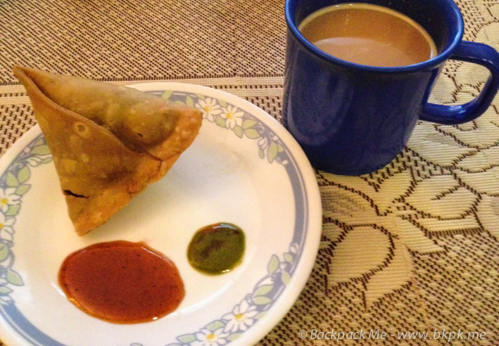 Chai and Samosa