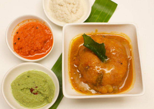 Sambar Vada from South India