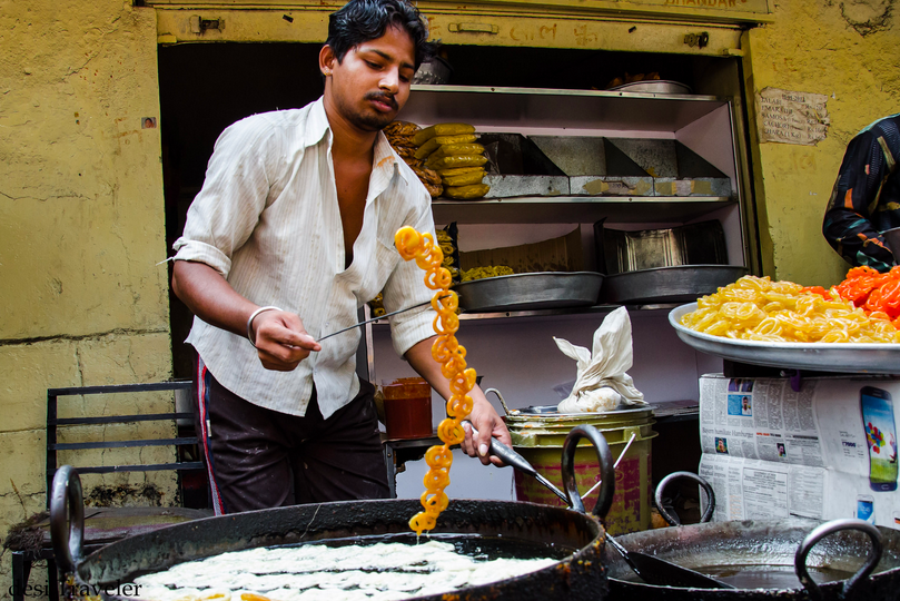 Jalebi vendor