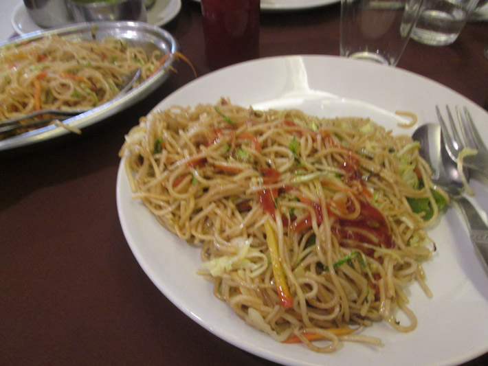 Indianised Chow Mein