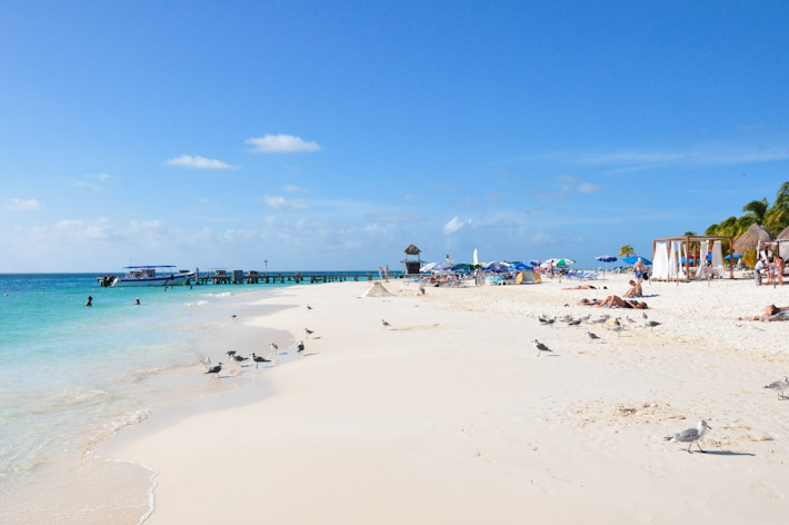 Beach in Isla Mujeres