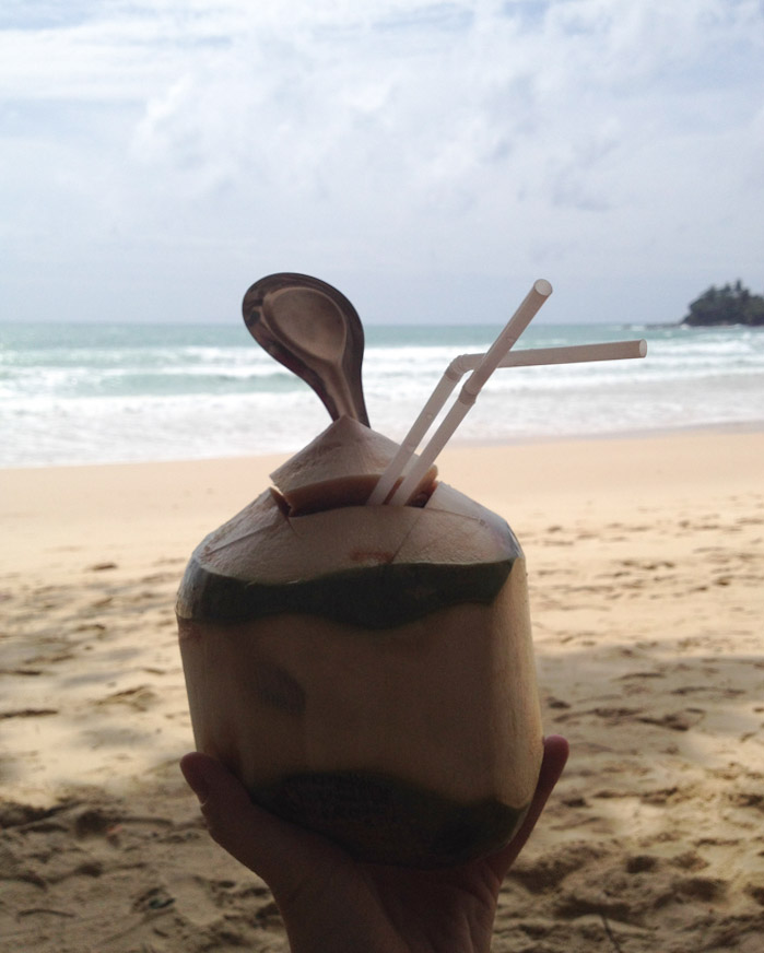 Fresh Coconut - The greatest drink on Earth!