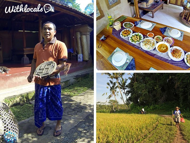 Rural tour and cooking class With Locals in Indonesia