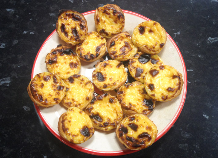 Learn how to make your own Pasteis de Nata with Cooking Lisbon