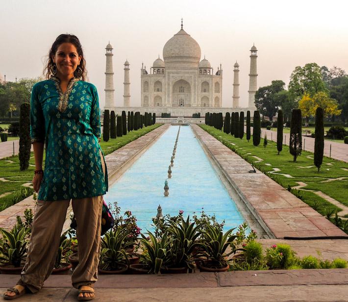 Nomadic Chica in India