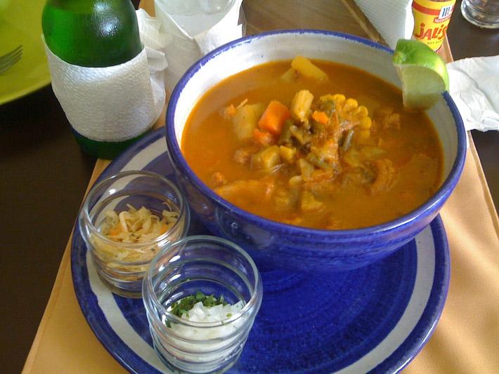 Sopa de Mondongo. Photo by Alberto Rodriguez: http://bit.ly/1NQ6VCV