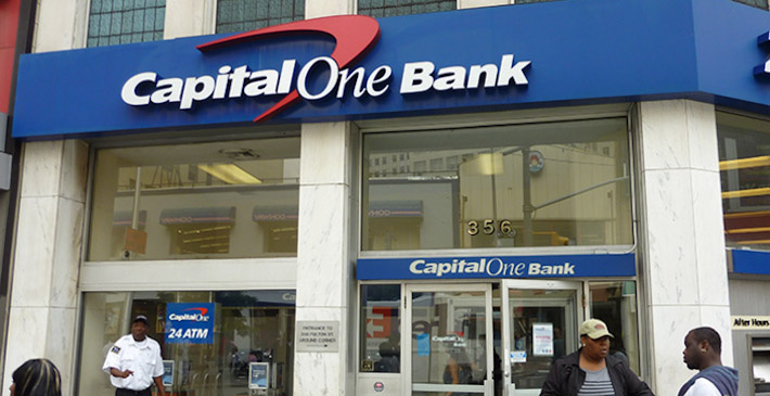 Capital One Bank in Brooklyn