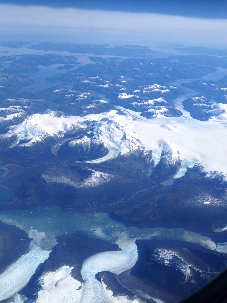 The Ice Fields from Above