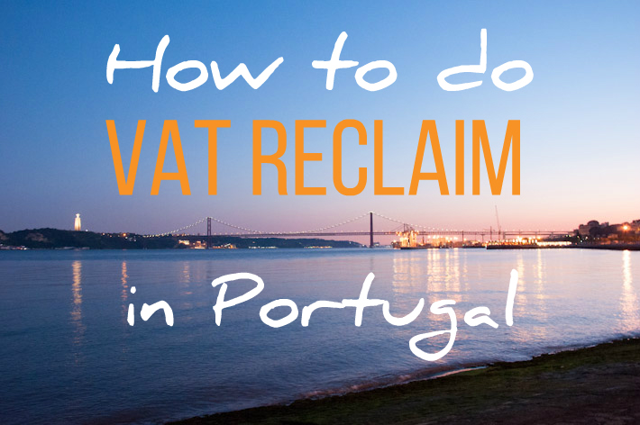 How to do VAT reclaim in Portugal