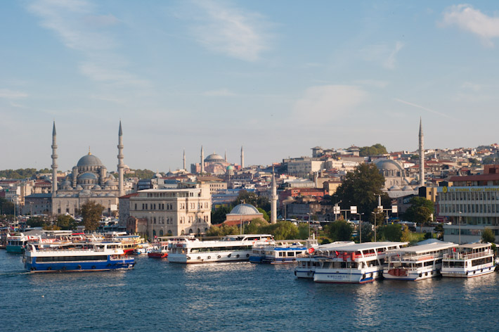 Sunny day in Istanbul