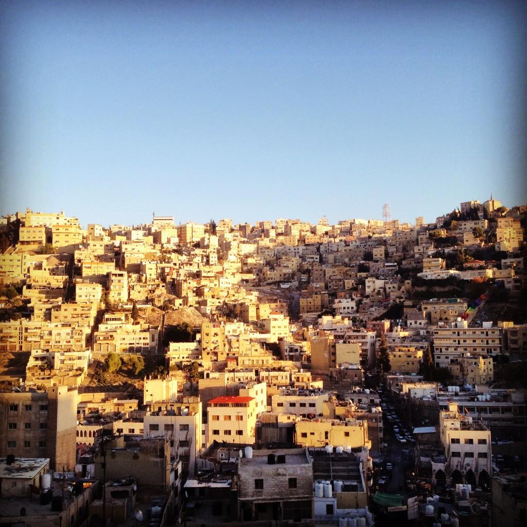 Amman's homogeneous cityspace