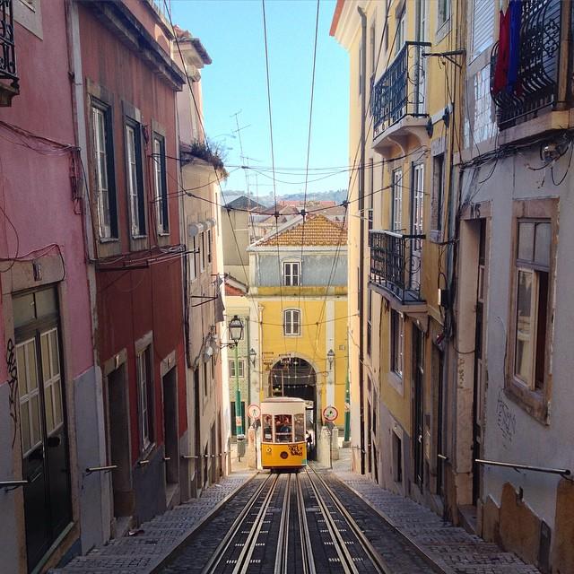 Elevador da Bica in Lisbon