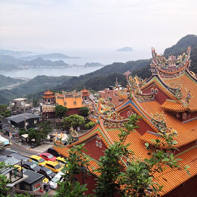 View of Jiufen in Taiwan