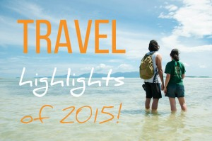 Backpack ME Travel Highlights of 2015