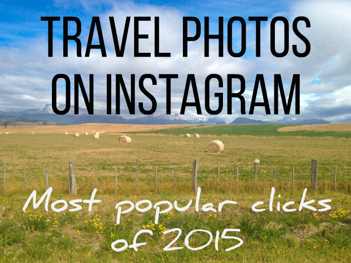 Most popular Instagram TRAVEL photos of 2015