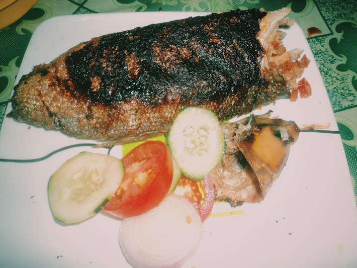 Bangus: Philippines grilled milkfish