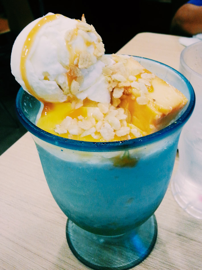 Traditional Filipino dessert Halo-Halo