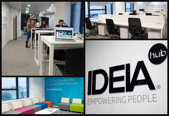 IDEIAHub coworking space at Parque das Nacoes