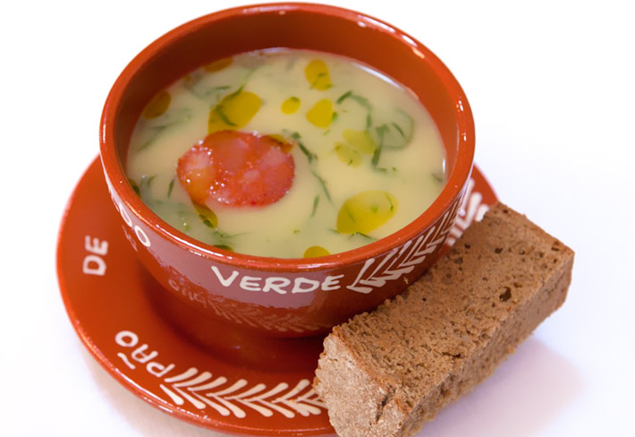 Typical Portuguese Soup Caldo Verde