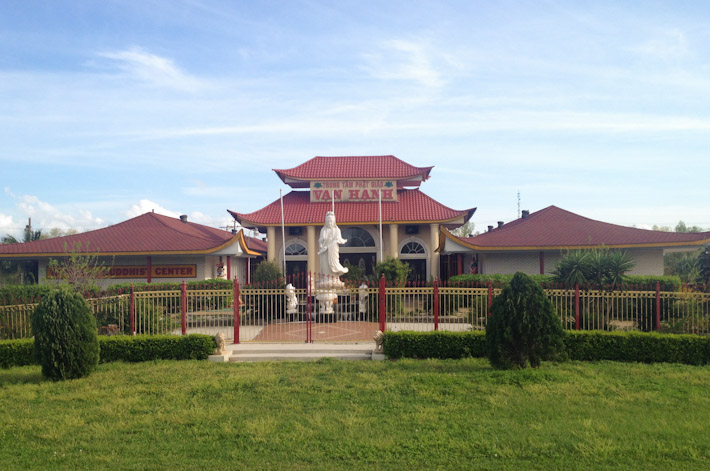 Buddhist Temple at Village de L'Est, New Orleans