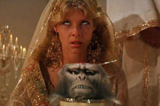 Monkey Brains in India, with Indiana Jones