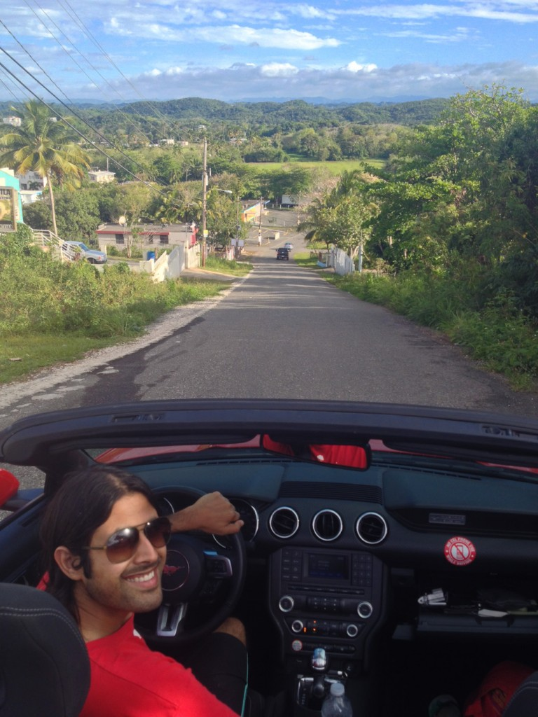 Road-tripping in Puerto Rico