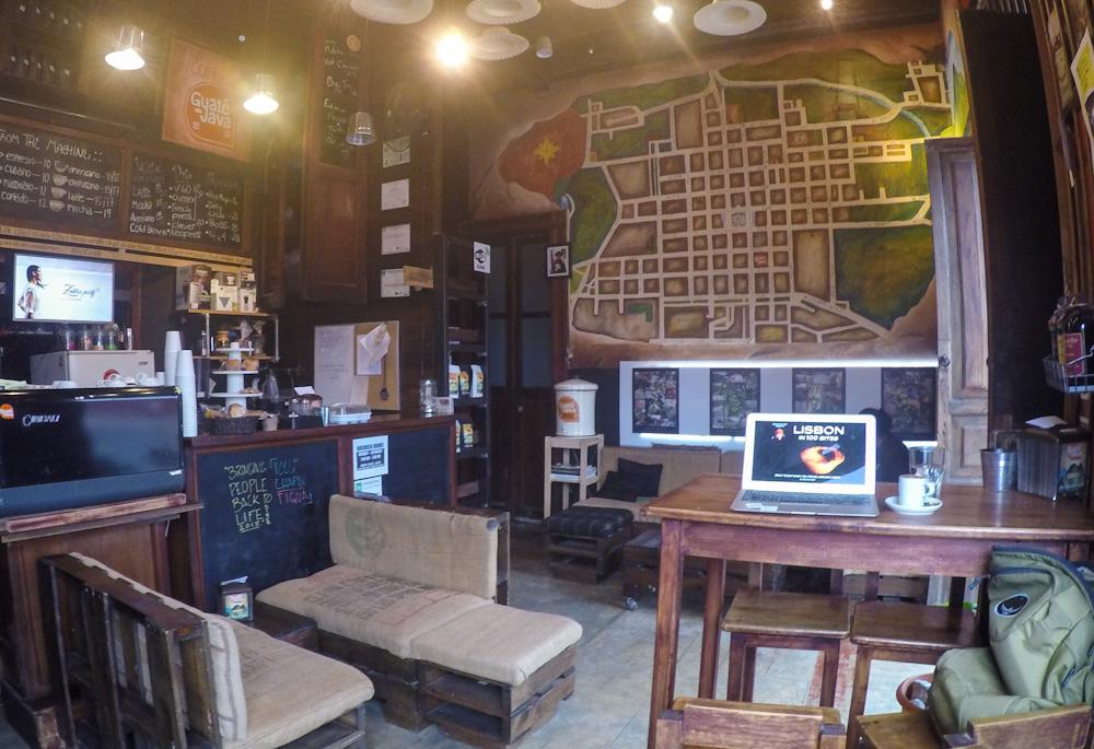 Cafe GuateJava in Antigua Guatemala