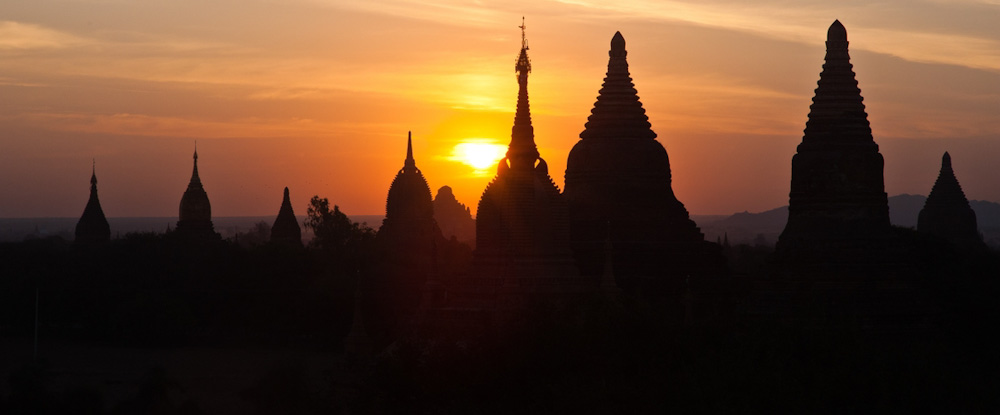 Buddhist temples at Bagan