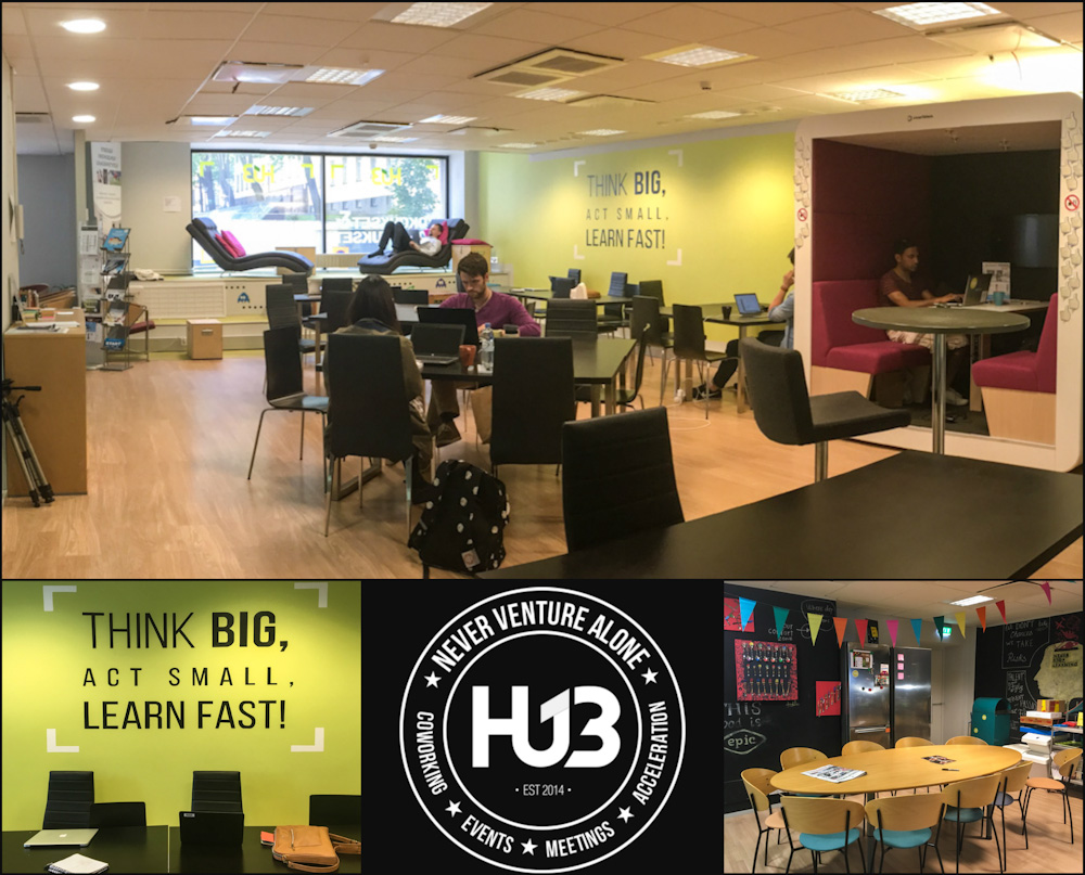Hub13 Coworking Space in Helsinki