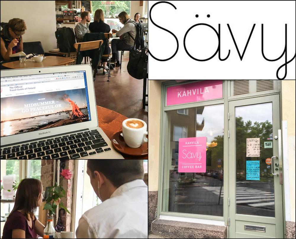 Savy Cafe in Helsinki