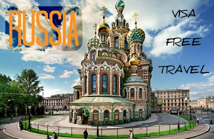 How to Travel to RUSSIA without a Visa | Backpack Me
